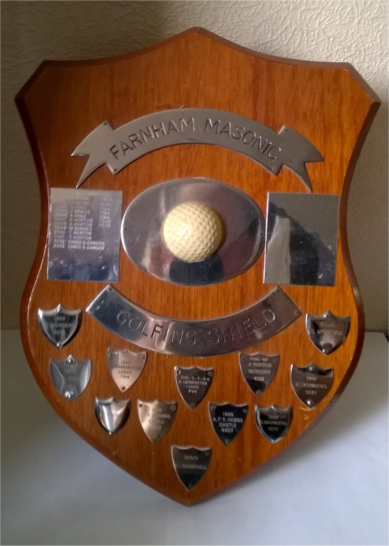Farnham Masonic Shield